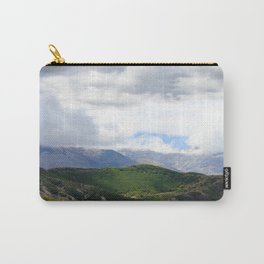 Saint Under The Clouded Sky Carry-All Pouch