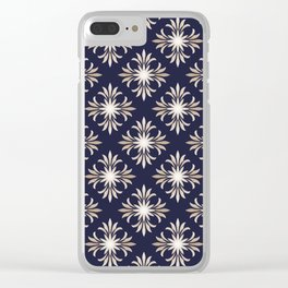 Baroque style pattern. Clear iPhone Case