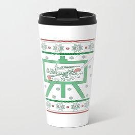 Painting Christmas Travel Mug