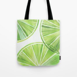 Fresh Lime ~ Summer Citrus Tote Bag