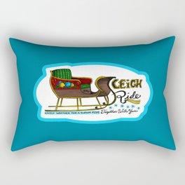 Sleigh Ride Rectangular Pillow