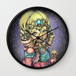 Responsibility of the Crown Wall Clock