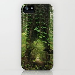 The Way in is the Way Out iPhone Case