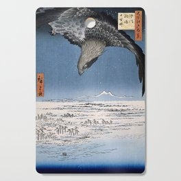 Fukagawa Susaki and Jumantsubo, Hiroshige Cutting Board