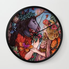 A Midsummer Nights Dream Wall Clock