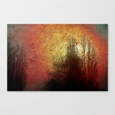 Last sunny day Canvas Print