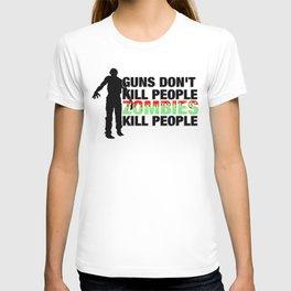 Zombies Kill People T-shirt