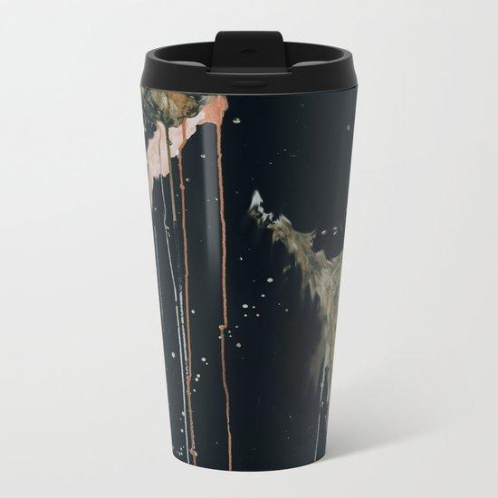 Melting Metal Travel Mug