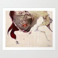 run Art Prints featuring Run by Al Barazi