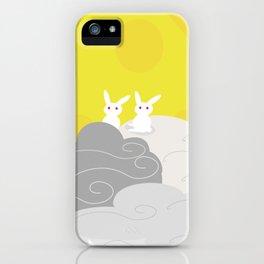moon rabbit iPhone Case
