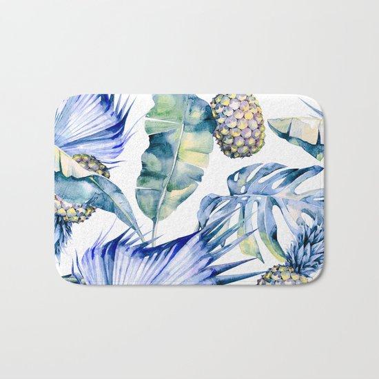Bahamas - blue Bath Mat