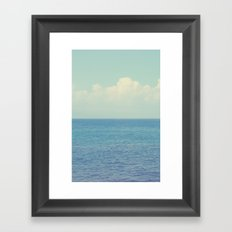 Vitamin Sea Ombre Framed Art Print