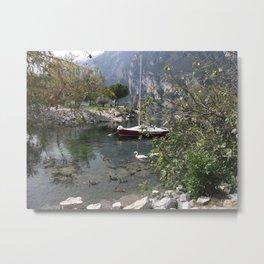 By the Lake Metal Print