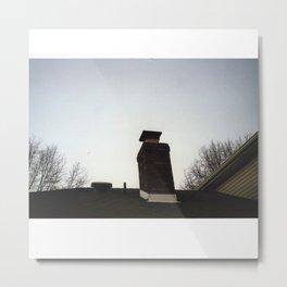 chimney Metal Print