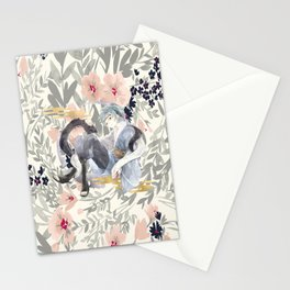 teen mitsuki Stationery Cards