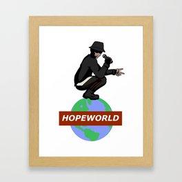 Hopeworld Framed Art Print
