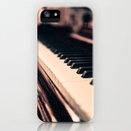 Bach's Piano iPhone Case