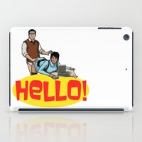 archer iPad Cases featuring Hello! - Archer by CDW1
