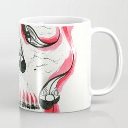 Desert Pea Skull - Soul Discovery Coffee Mug