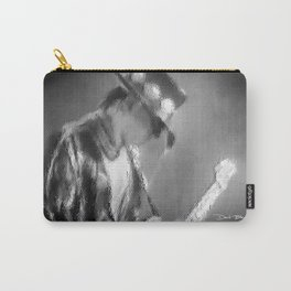 Stevie Ray Vaughan (Black &White) Carry-All Pouch