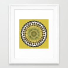 Woodland Abstract Framed Art Print