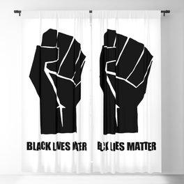 Oakland California 1971 Black Power Fist with Black Lives Matter, Super Sharp PNG 2 Blackout Curtain