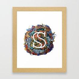100 Days of Hybrid Type: S Framed Art Print