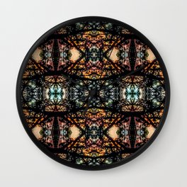 Austin Texas Loro Patio Magnified Wall Clock