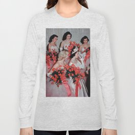 Drag Queen Beauty Queens Rupaul Dragrace Old-fashioned Photo Art Long Sleeve T-shirt
