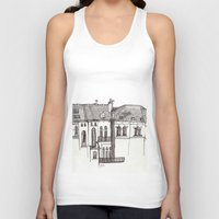 brussels Tank Tops featuring Brussels by MadmFia