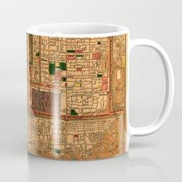 Map Of Peking 1914 Coffee Mug