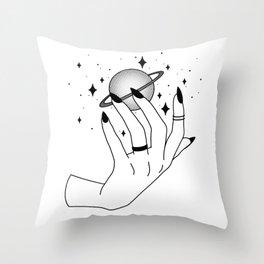 Star Maiden Throw Pillow