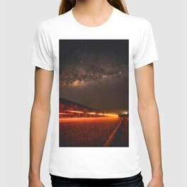 The Red Sky Road (Color) T-shirt