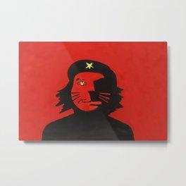 Cuba Cat Metal Print