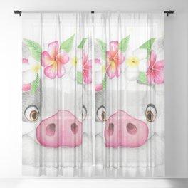 Pua Sheer Curtain