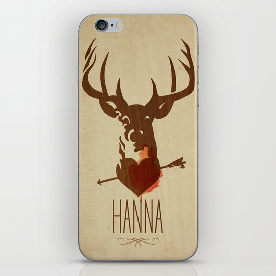HANNA film tribute poster iPhone & iPod Skin