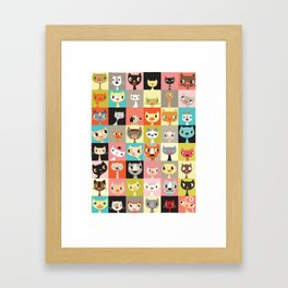 Kitties  Framed Art Print