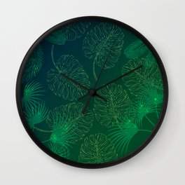 Jungle fever Wall Clock