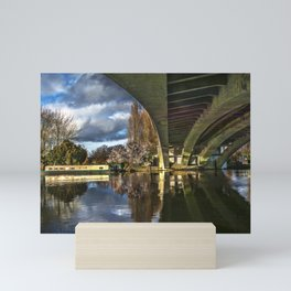 Beneath Reading Bridge Mini Art Print
