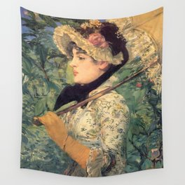 Le Printemps, Edouard Manet Wall Tapestry