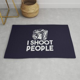 The photographer weapon Rug