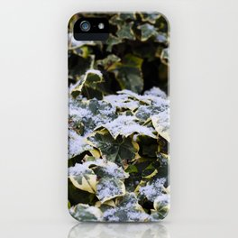 Neve em Londres - 4 iPhone Case