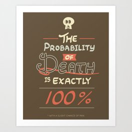 Morbid Reality #01 Art Print