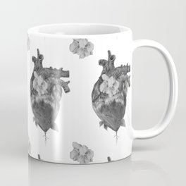 At Ease - Floral Heart Coffee Mug