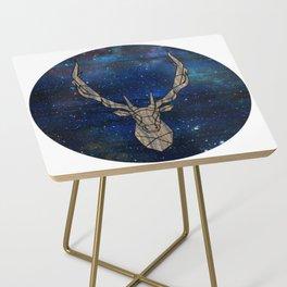 Geometric Space Elk Side Table