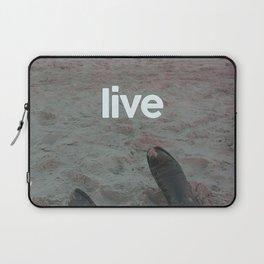 beach live Laptop Sleeve