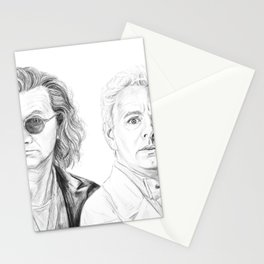 Crowley and Aziraphale Stationery Cards
