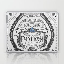 Legend of Zelda Blue Chu Potion Advertisement Laptop & iPad Skin