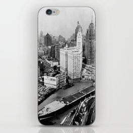 Largest travel Chicago River Chicago Illinois iPhone Skin