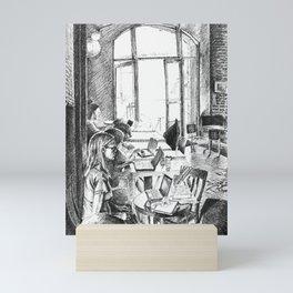 Find a Place to Sit Mini Art Print